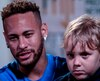 Neymar et son fils, Davi Lucca.