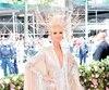 Céline Dion n'est pas passée inaperçue dans cette tenue signée Oscar de la Renta.