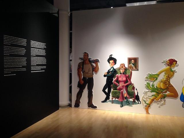 Jusqu'en janvier 2018, le Musée québécois  de la culture populaire propose une  exposition sur la bande dessinée québécoise