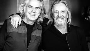Richard Séguin et Serge Fiori sont  fiers du travail qu'ils ont accompli  ensemble dans le cadre du projet  Fiori-Séguin, il y a 40 ans.
