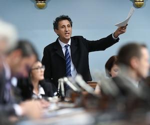 Le député de Québec solidaire Amir Khadir.
