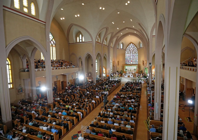 En images, la journée commémorative du 6 juillet 2014.