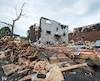 La tornade qui a ravagé le secteur Mont-Bleu à Gatineau, en Outaouais, en septembre dernier, a laissé plus de 2100 personnes sans logis.