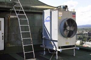 Une quarantaine de tours de refroidissement (comme celle ci) doivent être inspectées.