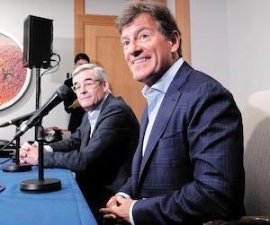 SPO-Annonce d'une possibilité de partage d'une équipe de baseball á Montréal avec les Rays de Tampa Bay