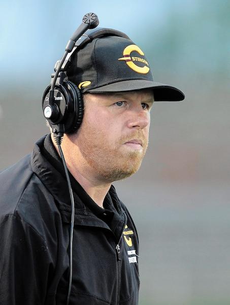 Brad Collinson était entraîneur intérimaire des Stingers de Concordia l'an dernier avant de voir confirmer son poste à la fin de la saison.