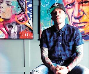 Depuis près de cinq ans, Louis Turmel, alias Berko, gagne en popularité un peu partout à travers la planète. Il a notamment vendu de ses tableaux en France, en Turquie, aux États-Unis et à Dubaï.
