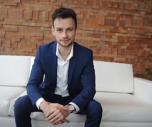 Matei Olaru, pdg de l'entreprise Lift qui organise le congrès Lift Cannabis Expo qui en est à sa 4 édition.