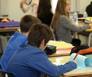 Bloc école études élèves