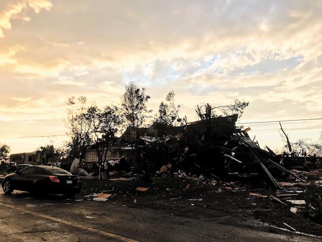 La municipalité de Dunrobin, à 30 kilomètres à l'ouest de Gatineau a également été durement frappée par le vortex de vendredi.