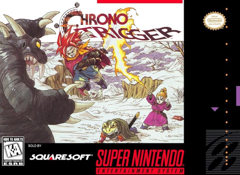 Chrono Trigger, ce n'est pas seulement des personnages adorables d'Akira Toriyama, c'est aussi une des aventures les plus épique pour sauver la planète. En plus le mode «Newgame+» et les fins multiples... wow!