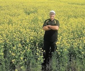 «Les guerres commerciales n'ont pas de sens. Ça aurait frappé les producteurs de moutarde», affirme Richard Marleau, cultivateur de moutarde jaune, à Aneroid, en Saskatchewan. Il se dit soulagé qu'une dispute commerciale ait été évitée de justesse.