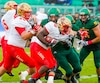 Christopher Amoah Rouge et Or Football Universitaire