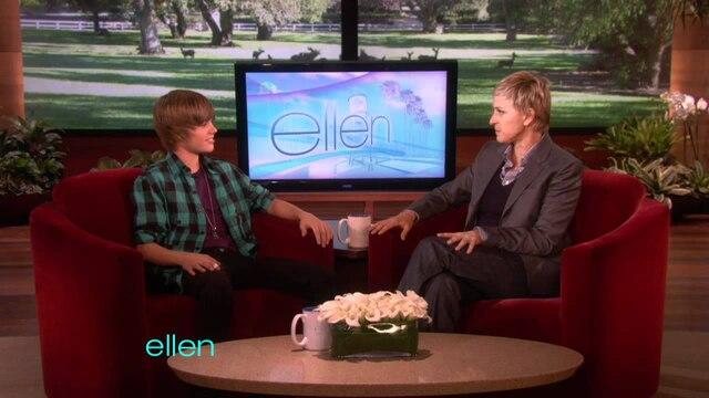 Justin Bieber et Ellen DeGeneres piègent des fans dans les toilettes
