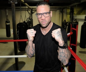 Le boxeur David Whittom.