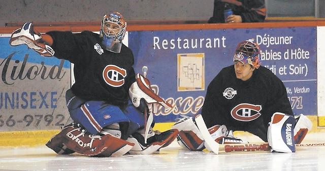 Mathieu Garon est fier d'avoir joué pour le Canadien au début de sa carrière, lui qui secondait José Théodore.
