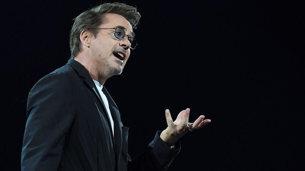 Robert Downey Jr. veut devenir un véritable superhéros