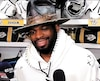 P.K. Subban a attiré l'attention avec son spectaculaire chapeau, hier.