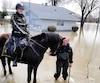 inondation patrouille equestre rigaud 2019
