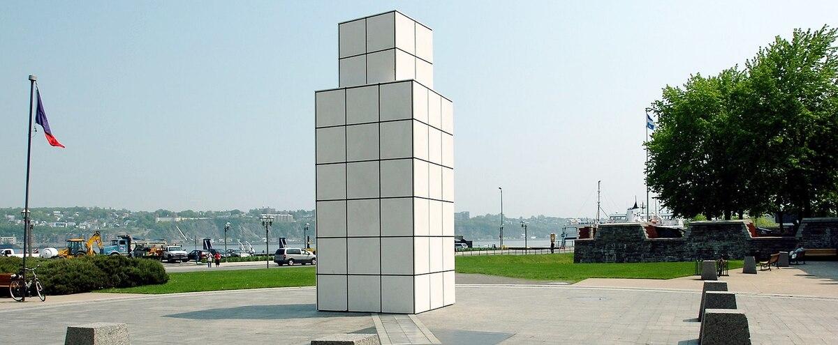 Le sculpteur du «cube» à Québec la semaine prochaine