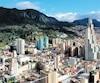 La capitale de la Colombie, Bogota.