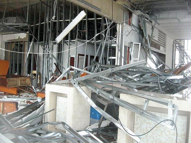 L'hôtel Pullman Cayo Coco a été sévèrement touché.
