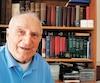 Marcel Bonin est un collectionneur de vieux livres d'histoire.