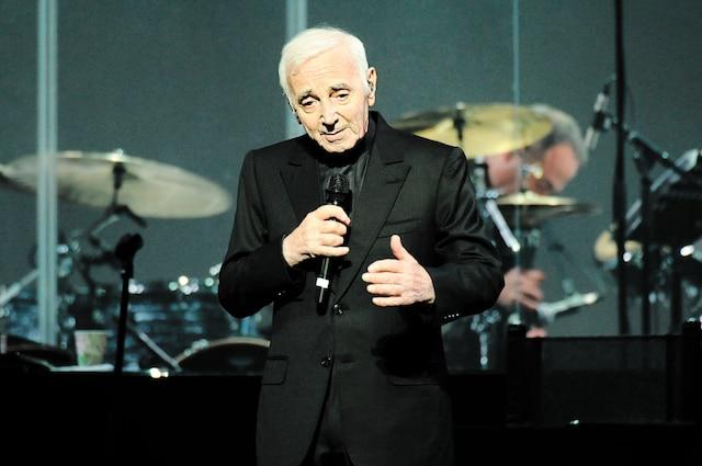 Le 21octobre 2016, le grand Charles  Aznavour se produisait au Centre Bell.