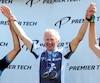 À 69 ans, Jacques Belzile participe encore à des courses cyclistes dans la catégorie des maîtres. Cet homme de Rimouski demeure fidèle à une vie consacrée à ce sport et marquée par la victoire en 1994 de son fils Guillaume au Tour de l'Abitibi.