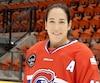 Quadruple médaillée d'or olympique, Caroline Ouellette est l'une des étoiles de la Ligue canadienne de hockey féminin.