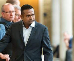 Tyronne Candappa a écopé cette semaine d'une peine de cinq ans de prison.
