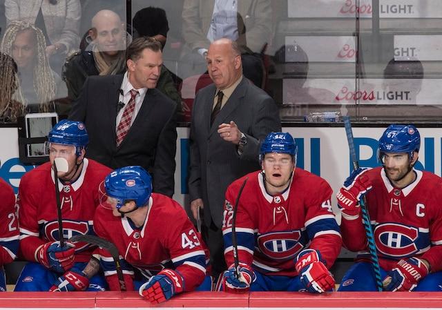 Le Canadien de Montréal accueillait les Flames de Calgary au Centre Bell, jeudi soir.