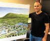 Patrick Rake, président du Groupe Skyspa, est l'initiateur du projet de station thermale du Mont-Saint-Bruno, en Montérégie.