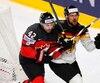 Chris Lee a porté les couleurs du Canada lors du plus récent Championnat mondial de hockey.