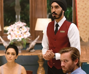 Nazanin Boniadi, Dev Patel et Armie Hammer.