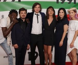 Mamoudou Camara, Jean-Carl Boucher, Alexandre Nachi, Sandrine Bisson, Mara Lazaris et Juliette Gosselin