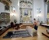 """Decrochage d'oeuvre du musee des Ursulines pour une exposition au Musee de Beaux Arts, intituler """"Le fabuleux destin des tableaux des Abbes Dejardejins, le 19 mai ( 05 ) 2017 . DIDIER DEBUSSCHERE/JOURNAL DE QUEBEC"""