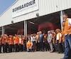 C'est avec fierté et un enthousiasme débordant que le premier ministre du Québec s'est rendu à l'usine de matériel ferroviaire de Bombardier située à Haïfa, au nord de Tel Aviv, où est produit 70 % des wagons qui roulent en Israël.