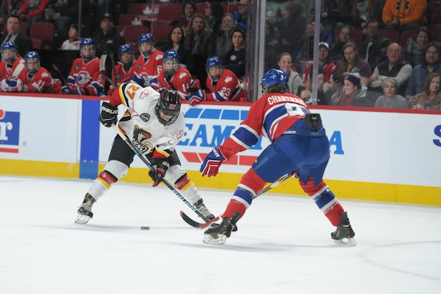 C'était une journée spéciale, samedi, au Centre Bell, où les Canadiennes de Montréal y jouaient pour la première fois de leur histoire.