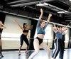 Une vingtaine de danseurs ont démontré leur savoir-faire dans l'espoir d'être recrutés pour le Moulin Rouge.