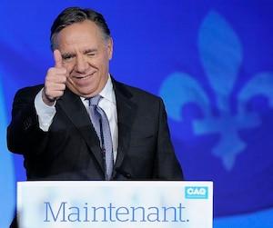 Le premier ministre élu, François Legault