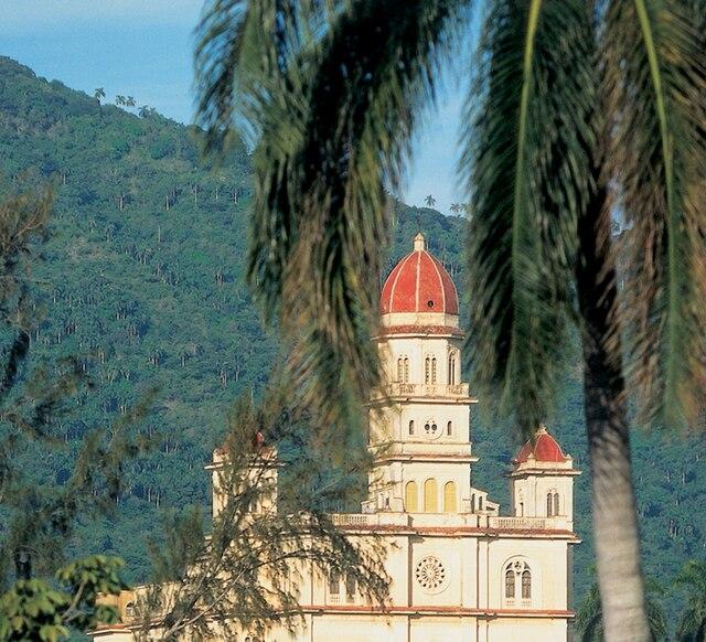 Sanctuaire El Cobre à Siantiago de Cuba.