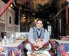 Atigh Ould, le fondateur du festival nomade et propriétaire du restaurant mauritanien La Khaïma où se déroule la plupart des activités du festival.
