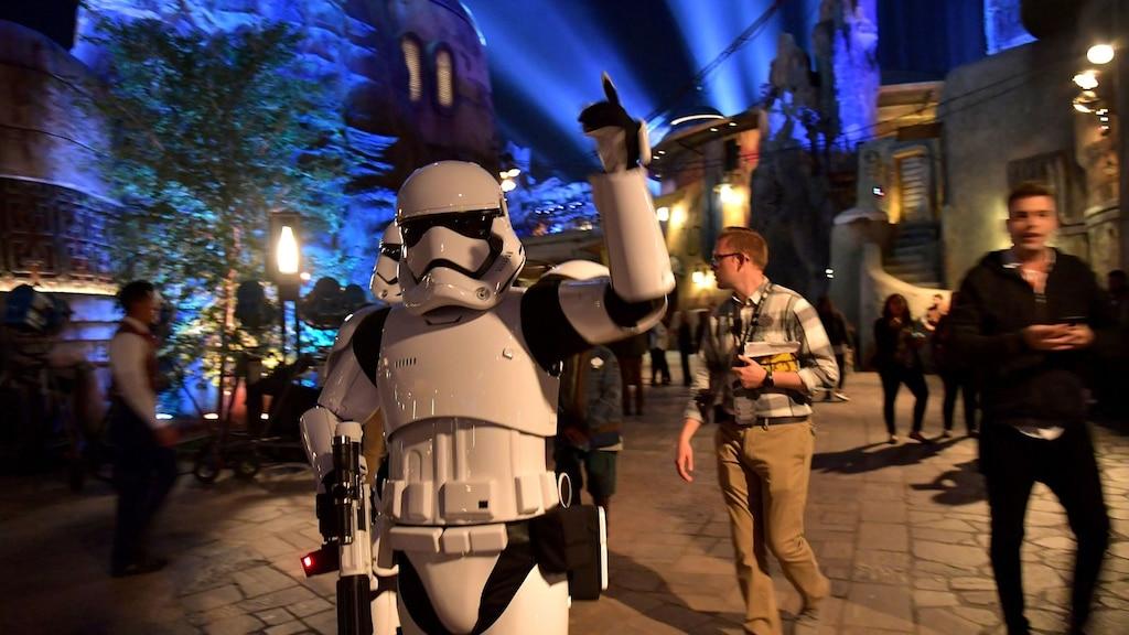 Le parc d'attractions Star Wars vient d'ouvrir! Le voici en photos et vidéo