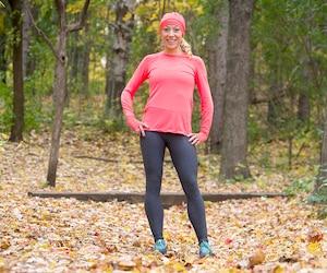 Mélanie Myrand a établi la 8e meilleure performance québécoise de tous les temps au marathon, le week-end dernier, en signant un temps de 2 h 39 min 7 s.