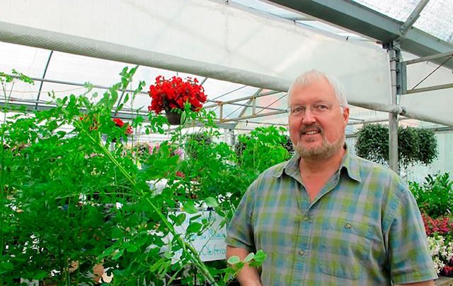 Henryk Maedler, propriétaire des Serres Maedler, est le premier à faire pousser au Québec le Moringa, une plante tropicale aux mille vertus.