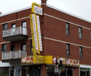 Le restaurant Capri est situé sur le boulevard Rosemont, à Montréal.
