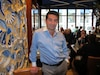 Le restaurant de Carlos Ferreira s'est vidé mercredi soir lors de la manifestation étudiante.