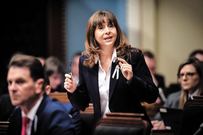La ministre de la Culture et des Communications, Nathalie Roy