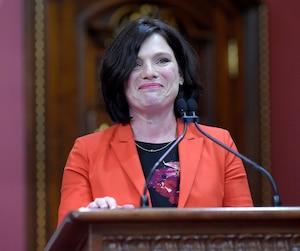 Véronyque Tremblay devient ministre déléguée aux Transports.